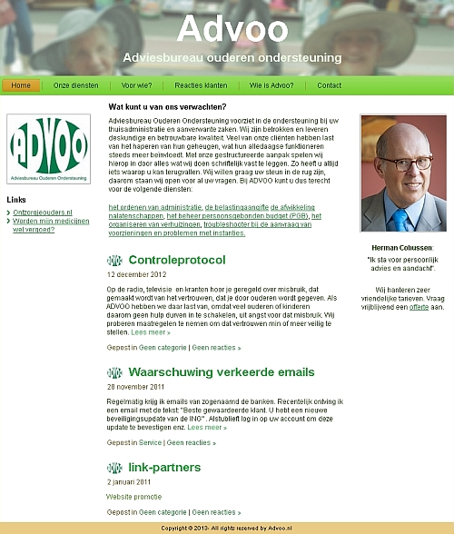 Home advoo.nl